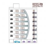 نقشه آپارتمان مسکونی 28 واحدی