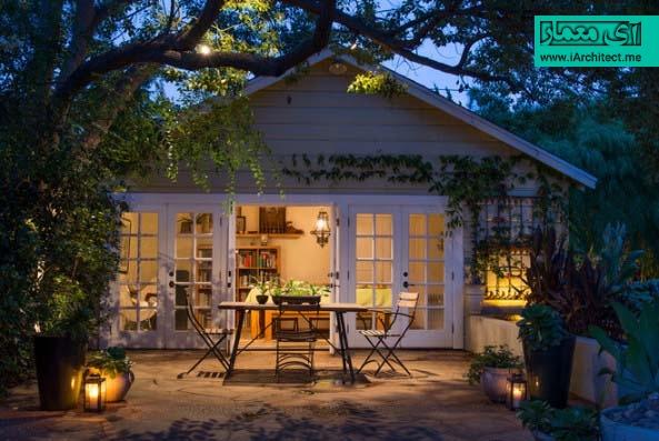 نورپردازی محوطه حیاط و باغ