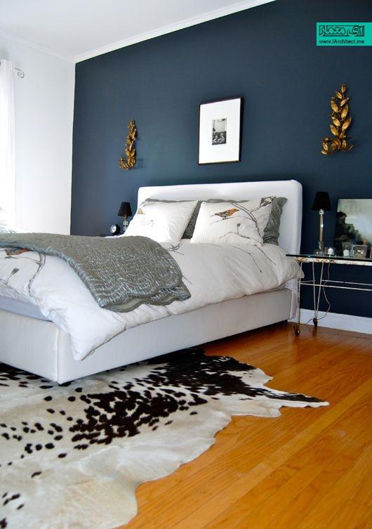 12 رنگ دیوار اتاق خواب