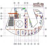 دانلود نقشه ساختمان اداری -تجاری