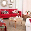 Application of orange in interior decoration-1