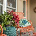 Application of orange in interior decoration-11