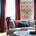 Application of orange in interior decoration-14