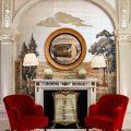 Application of orange in interior decoration-16