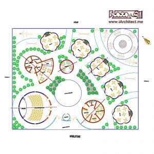 دانلود پلان معماری کودکستان