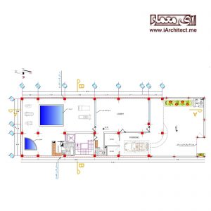 طراحی پلان مسکونی 3 طبقه