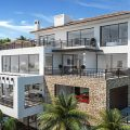 Map of a four-storey luxury villa-1