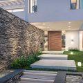 Facade design of a modern 2-storey villa-1